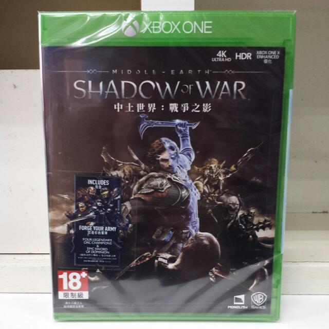 XBOX One Shadow Of War