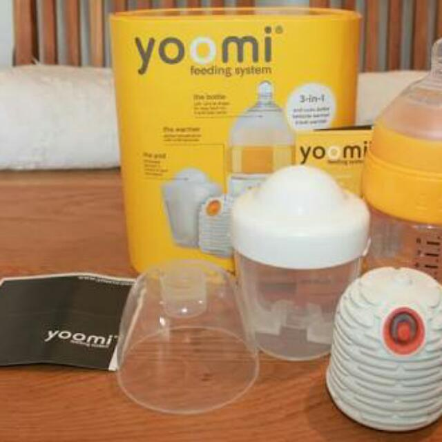 yoomi bottle with heatee