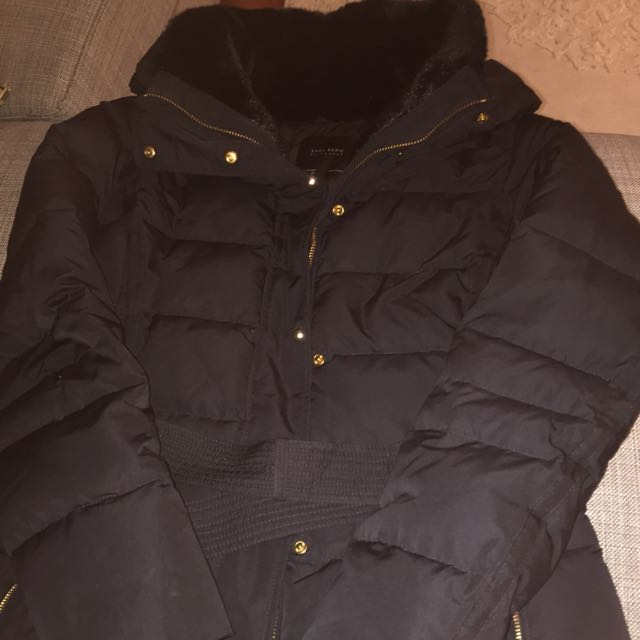 Zara Down Puffer Coat