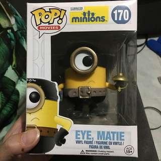 Funko pop minions eye matie