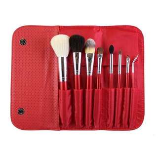 MORPHE - 8 Piece Candy Apple Red Brush Set 🍎