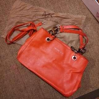 Orange 2-way Michael Kors Bag