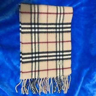 Burberry圍巾