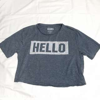 ATMOSPHERE HELLO SHIRT