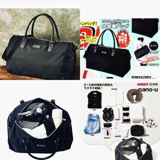 Nano Universe Large Capacity Boston/Duffle Bag from Japan