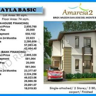 Amaresa 2 House and lot your Dream House