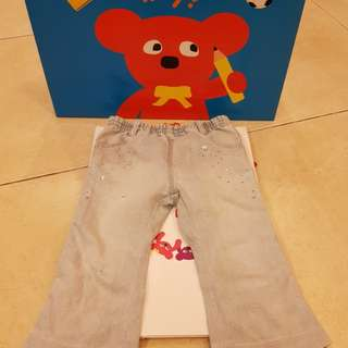 🚚 1/2牛仔褲100cm