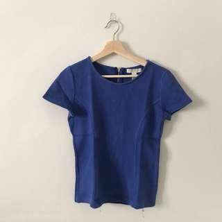 F21 Blue Shirt