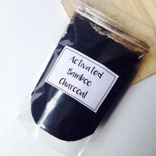 Activated Bamboo Charcoal 50grams