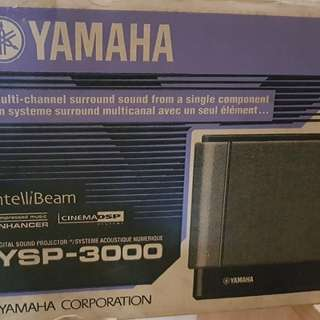 Yamaha 5.1 Sound Projector Model YSP-3000 Home Theater Repriced