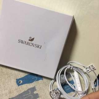 Swarovski愛心❤️造型耳機