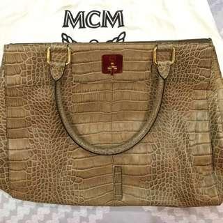 MCM Large Tote Bag.