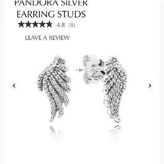 Authentic pandora earrings