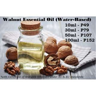 Walnut Essential Oil (Water Based) for Air Humidifier / Diffuser & others