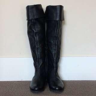 Joe Fresh leather boots
