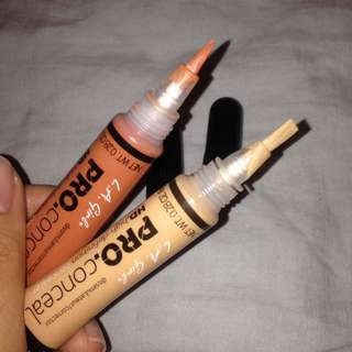 L.A. Girl Pro Concealers