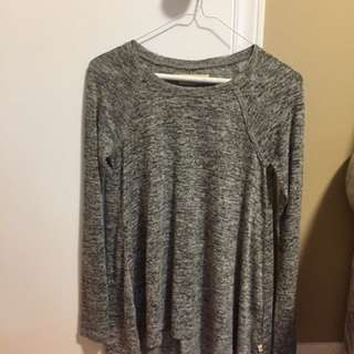 Hollister Heather Grey Shirt