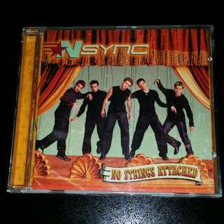 NSYNC No Strings Attached CD