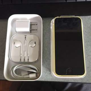 *REDUCED* iPhone 5c -Yellow
