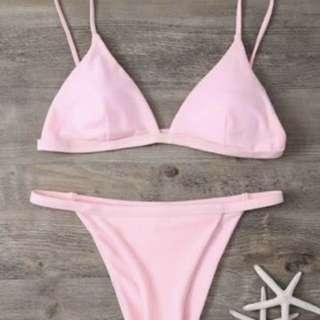 Zaful Pink bikini