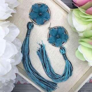 Tassel & lace earrings bulk sale