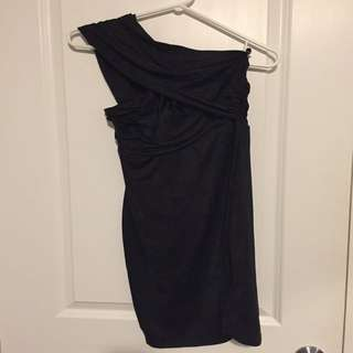 Guess one shoulder dress