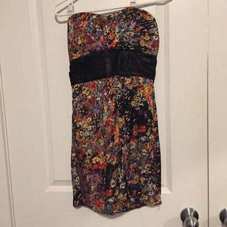Costa Blanca strapless dress