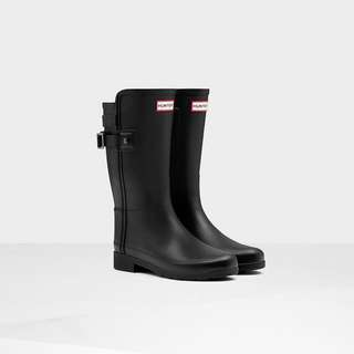 Short Black Hunter Boots Size 7 US
