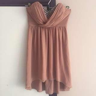 Dusty pink dress size 10