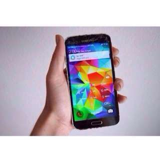 Used Samsung S5 Gold