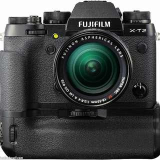 WTT Fujifilm XT-2 for Fujifilm XT-20