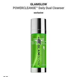 Glam glow powercleanse daily dual cleanser