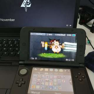 3DS XL Black CFW