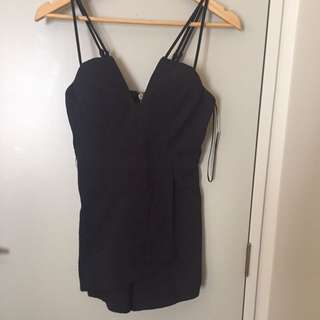 Cute black playsuit