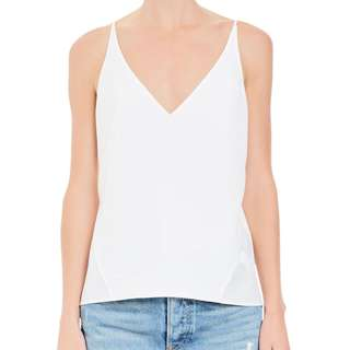 Tuchuzy Chosen Bias Cut - Off White - Cami - XS