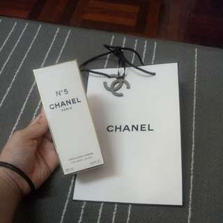 Authentic Chanel no.5 body lotion