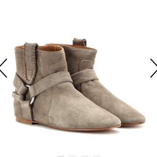 Isabel Marant Etoile Ralf Harness Suede Boots 38
