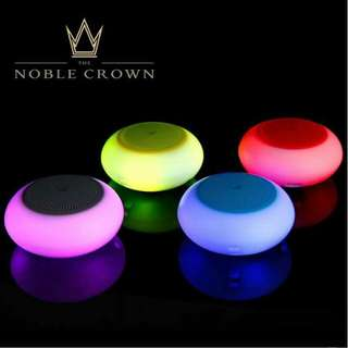 Noble crown bluetooth speaker