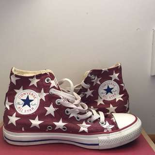 Red Star Converse