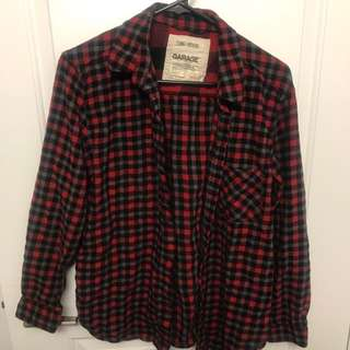 Flannel. Size M