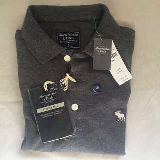 Authentic Abercrombie and Fitch Strech Polo Shirt
