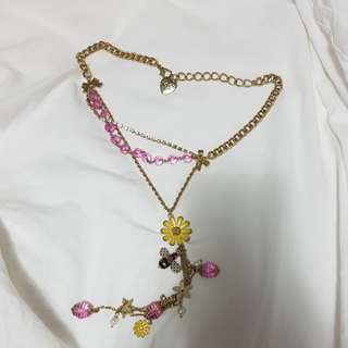 Betsey Johnson vintage necklace