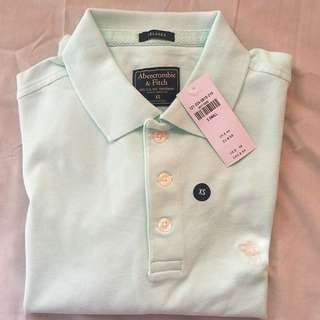 Authentic Abercrombie and Fitch Relaxed Polo Shirt