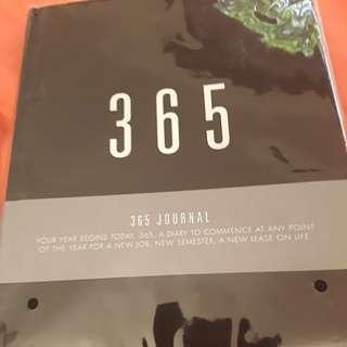 Kikki.k 365 minimalist black blank journal