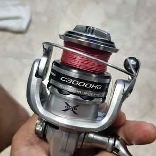 Fishing Reel shimano nasci 3000