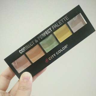 City Color Corrector Palette