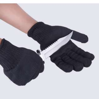 Iron Mesh Anti Slash Glove