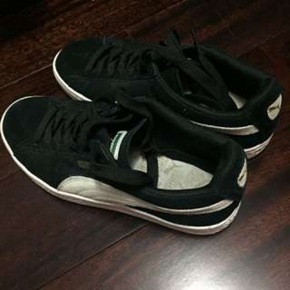 Puma suede shoes