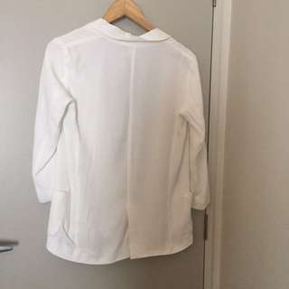 Glassons White blazer