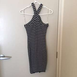 Glassons mini stripy dress